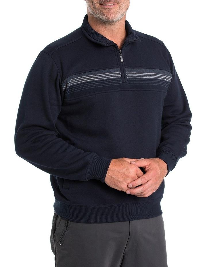 Leo Snowy Mt Fleece Half Zip Sweat image 3