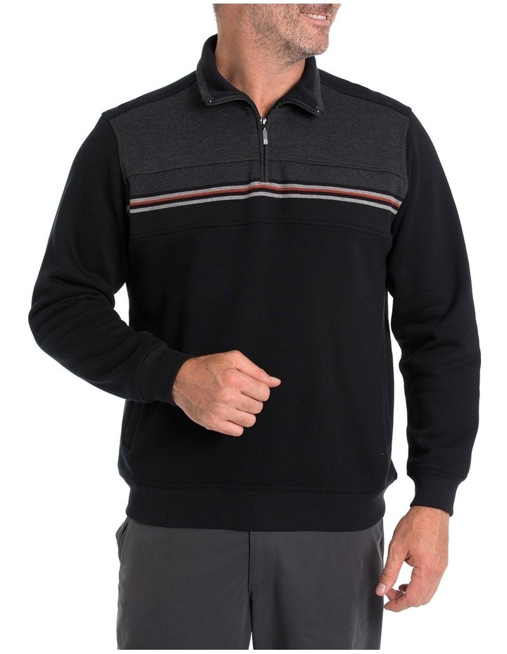 Will Snowy Mt Fleece Half Zip Sweat image 1