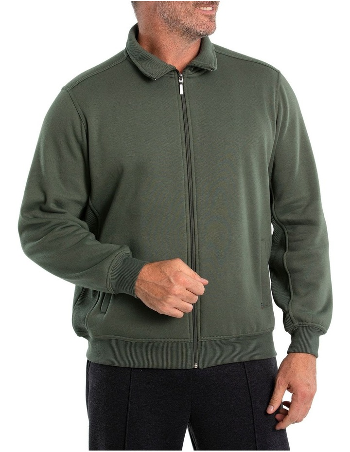 Indo Snowy Mt Fleece Half Zip Sweat image 1