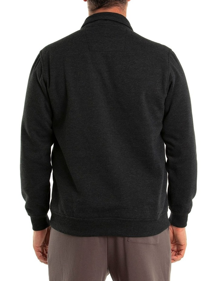 Dex Snowy Mt Fleece Half Zip Sweat image 2