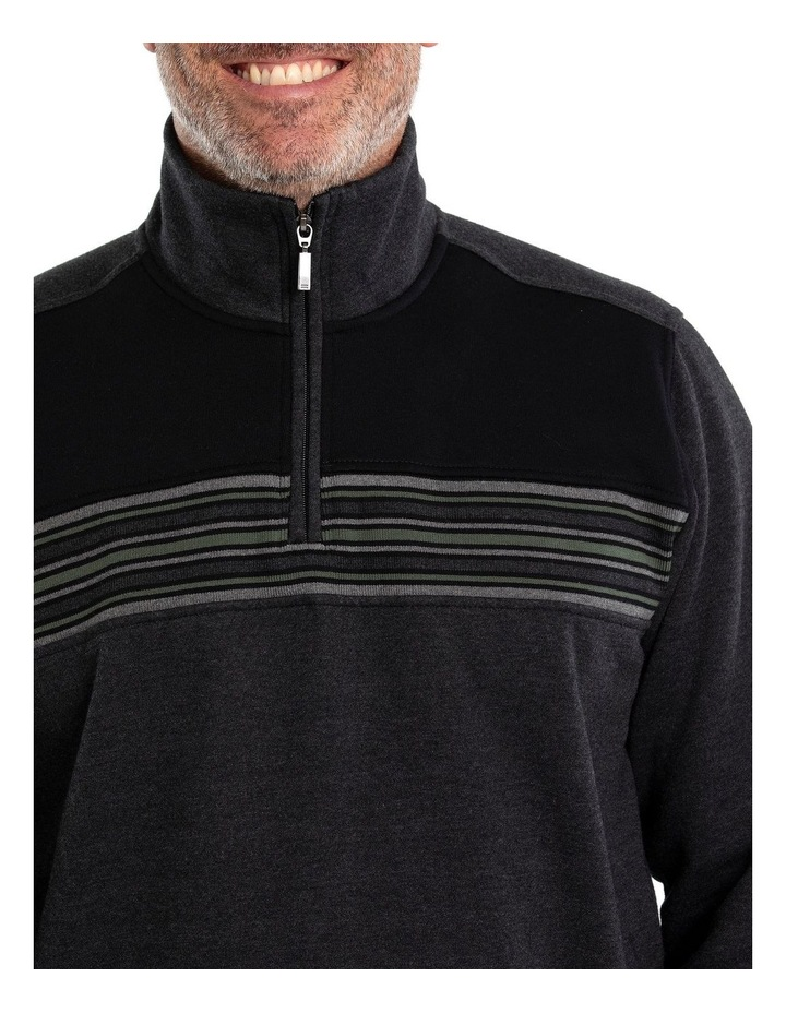 Dex Snowy Mt Fleece Half Zip Sweat image 4