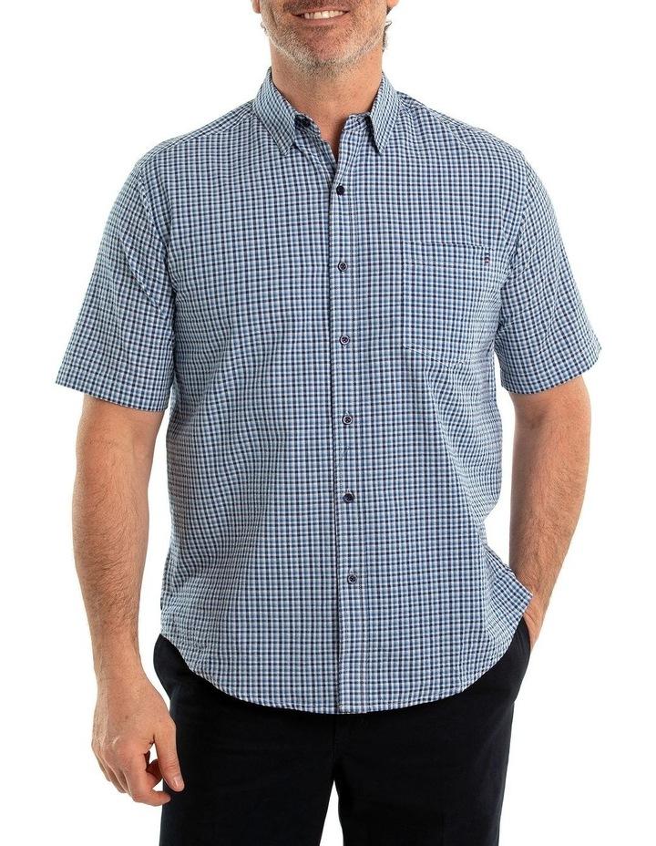 Bran Seersucker Short Sleeve Shirt image 1