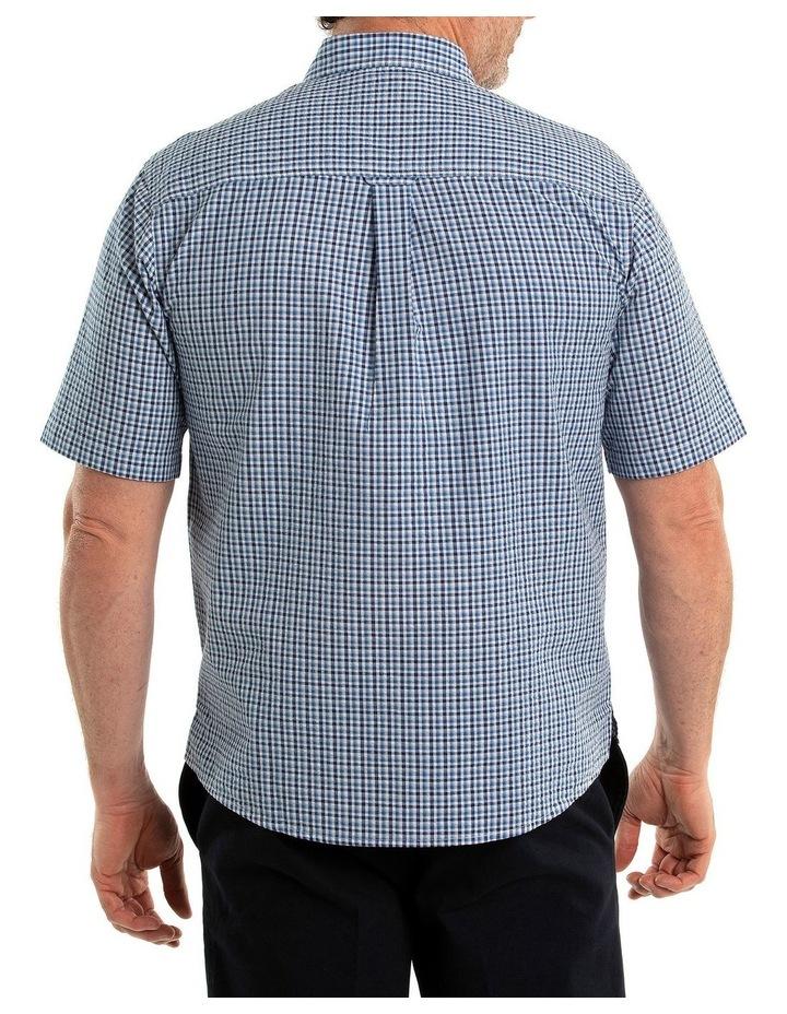 Bran Seersucker Short Sleeve Shirt image 2