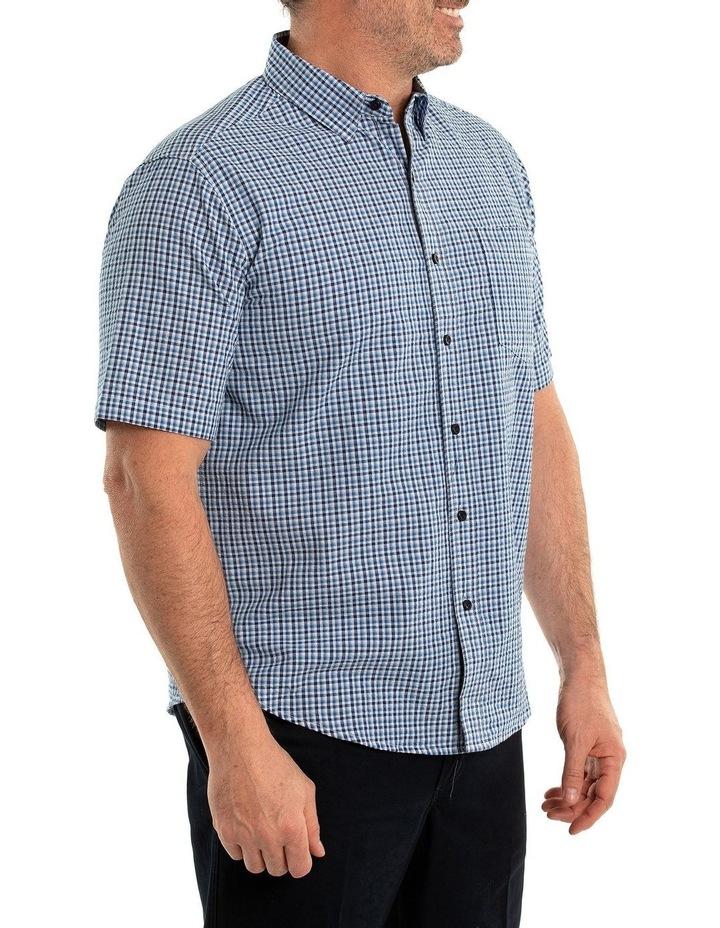 Bran Seersucker Short Sleeve Shirt image 3