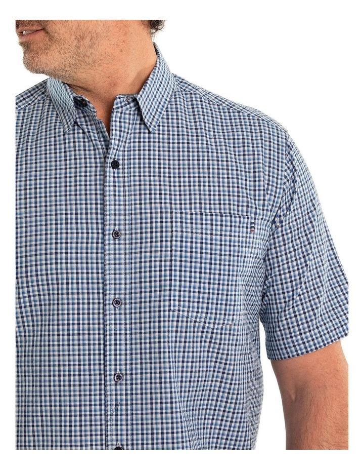 Bran Seersucker Short Sleeve Shirt image 4