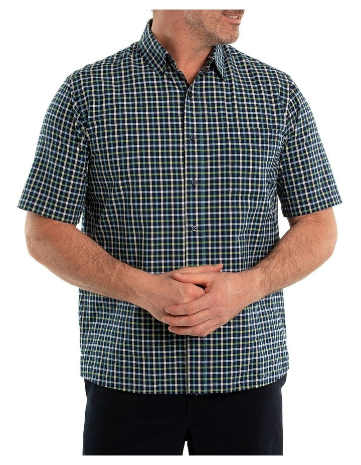 Duran Seersucker Short Sleeve Shirt image 1