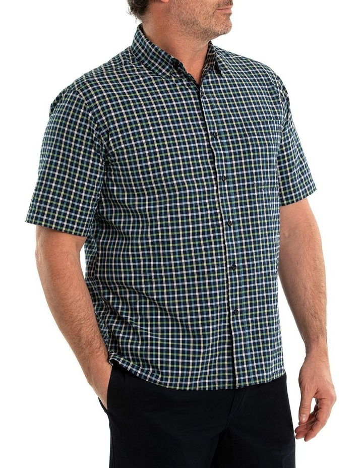 Duran Seersucker Short Sleeve Shirt image 3