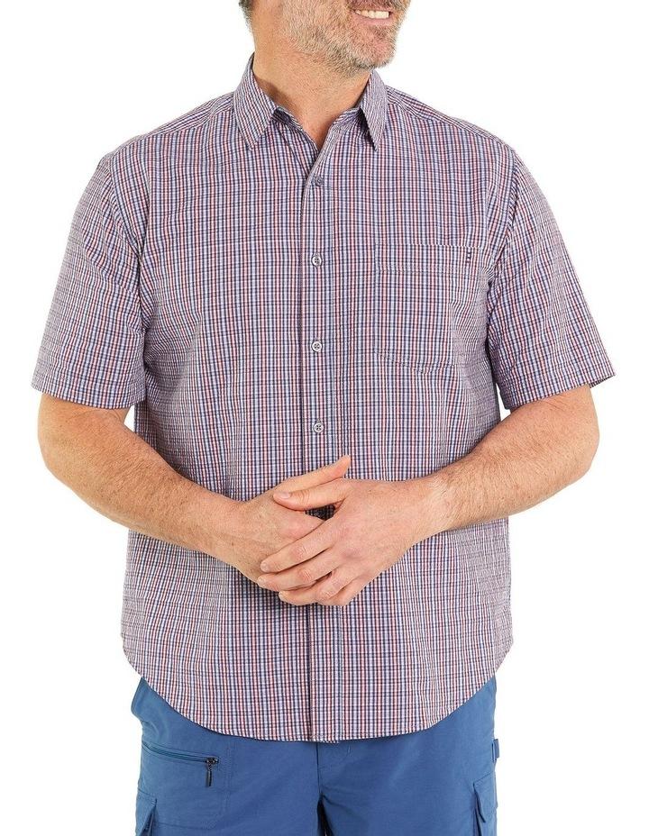Chandler Seersucker Short Sleeve Shirt image 1