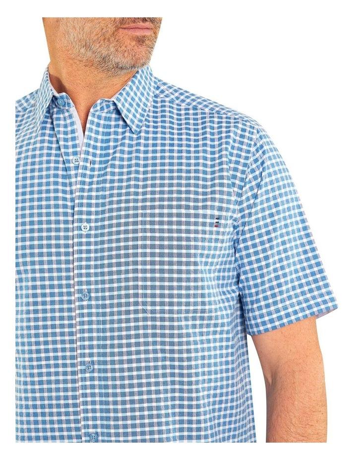 Bardon Seersucker Short Sleeve Shirt image 4