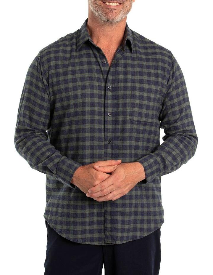 Chaz Cotton Brush Long Sleeve Shirt image 1