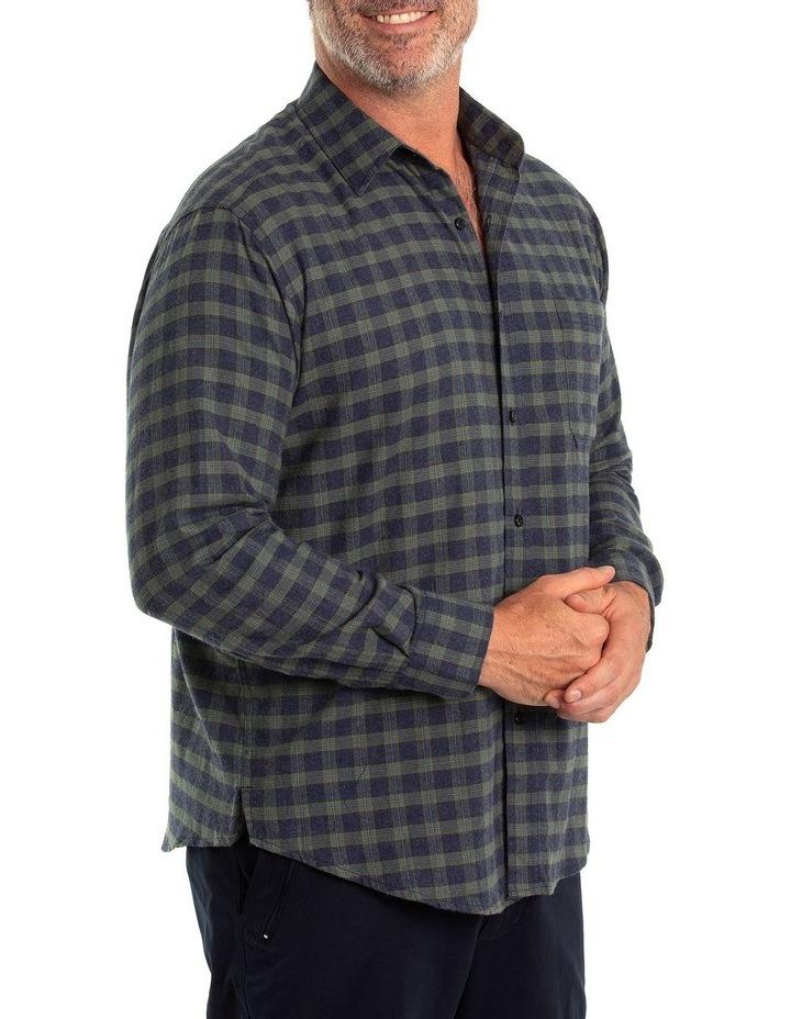 Chaz Cotton Brush Long Sleeve Shirt image 3