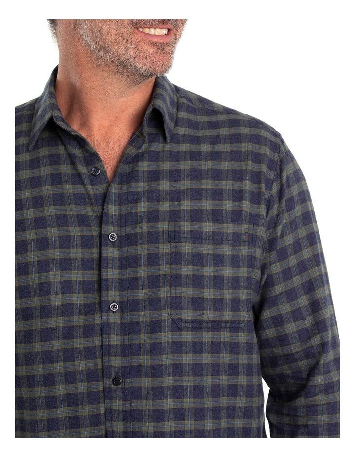 Chaz Cotton Brush Long Sleeve Shirt image 4