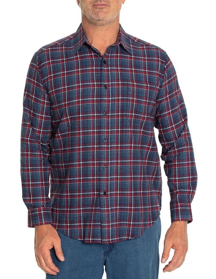 Keyes Long Sleeve Cotton Brush Shirt image 1