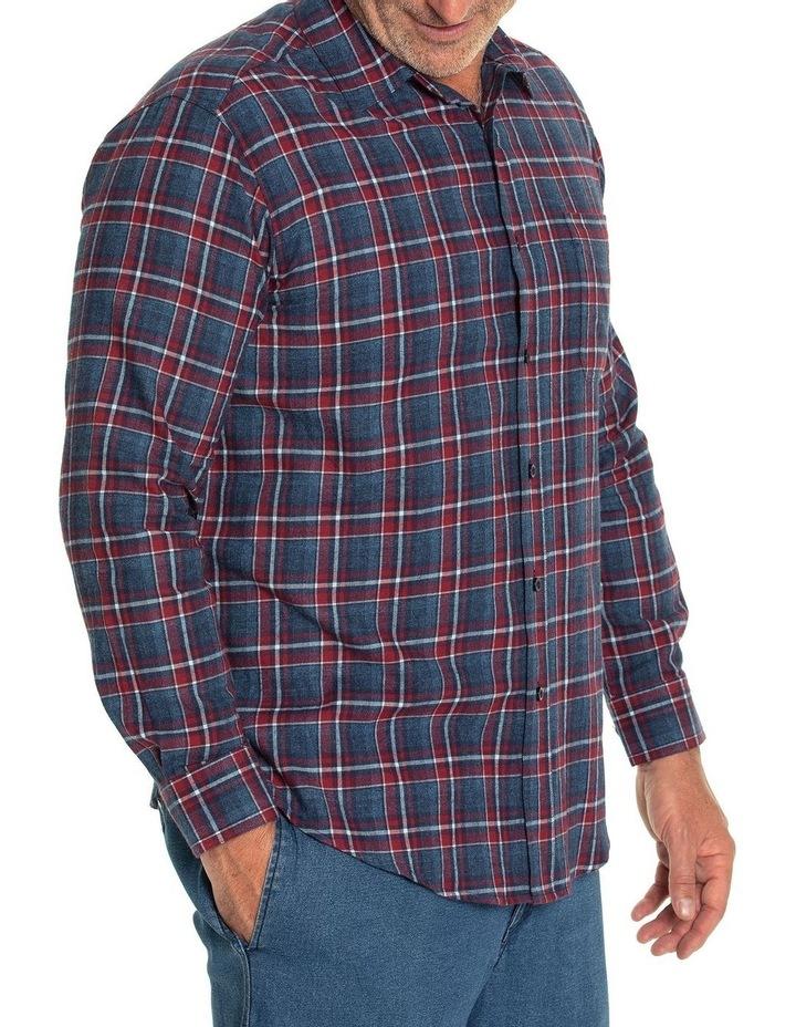 Keyes Long Sleeve Cotton Brush Shirt image 2