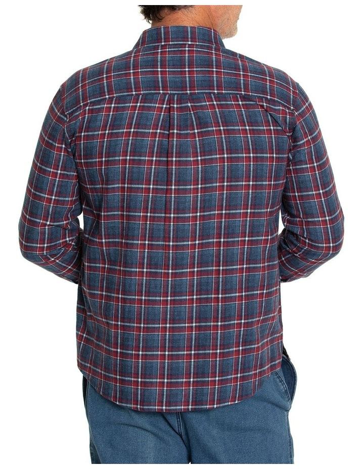 Keyes Long Sleeve Cotton Brush Shirt image 3