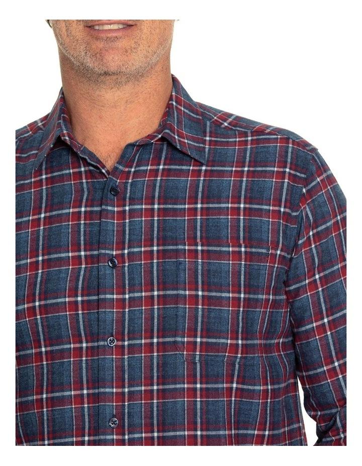 Keyes Long Sleeve Cotton Brush Shirt image 4