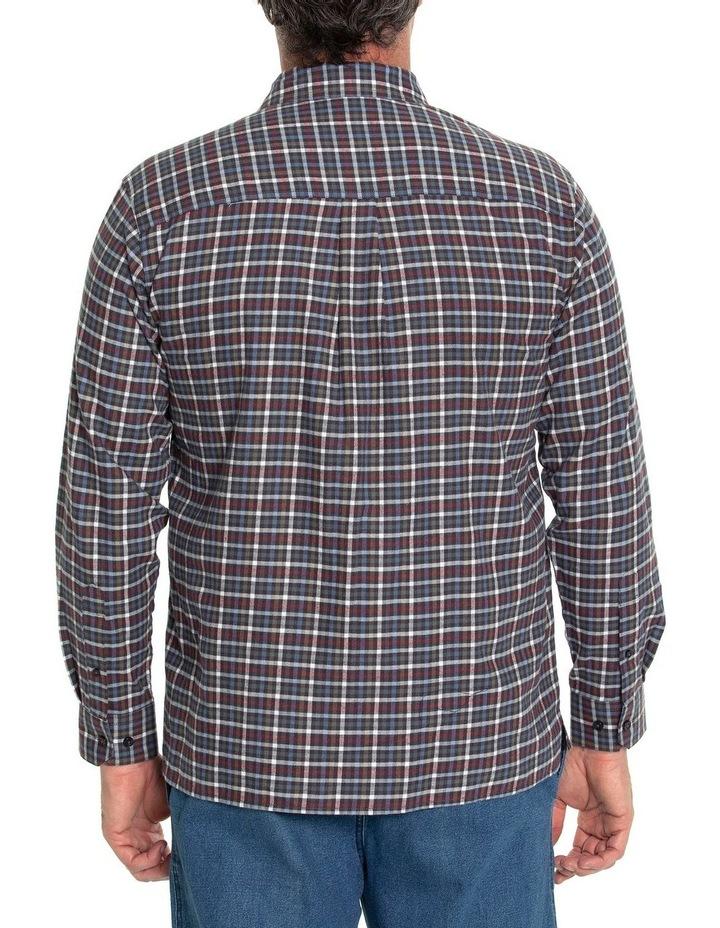 Ferras Long Sleeve Cotton Brush Shirt image 3