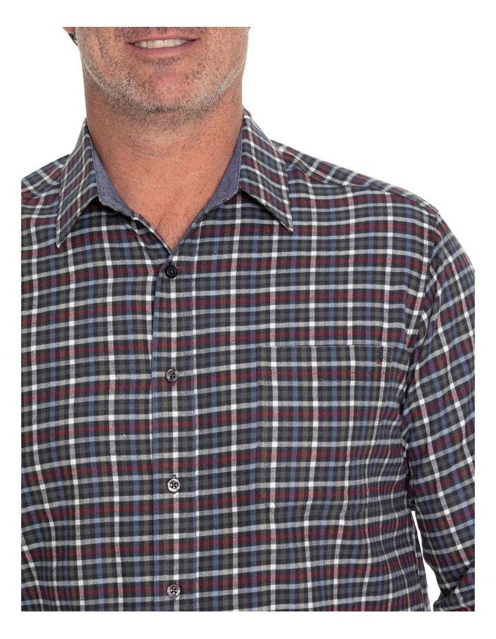 Ferras Long Sleeve Cotton Brush Shirt image 4