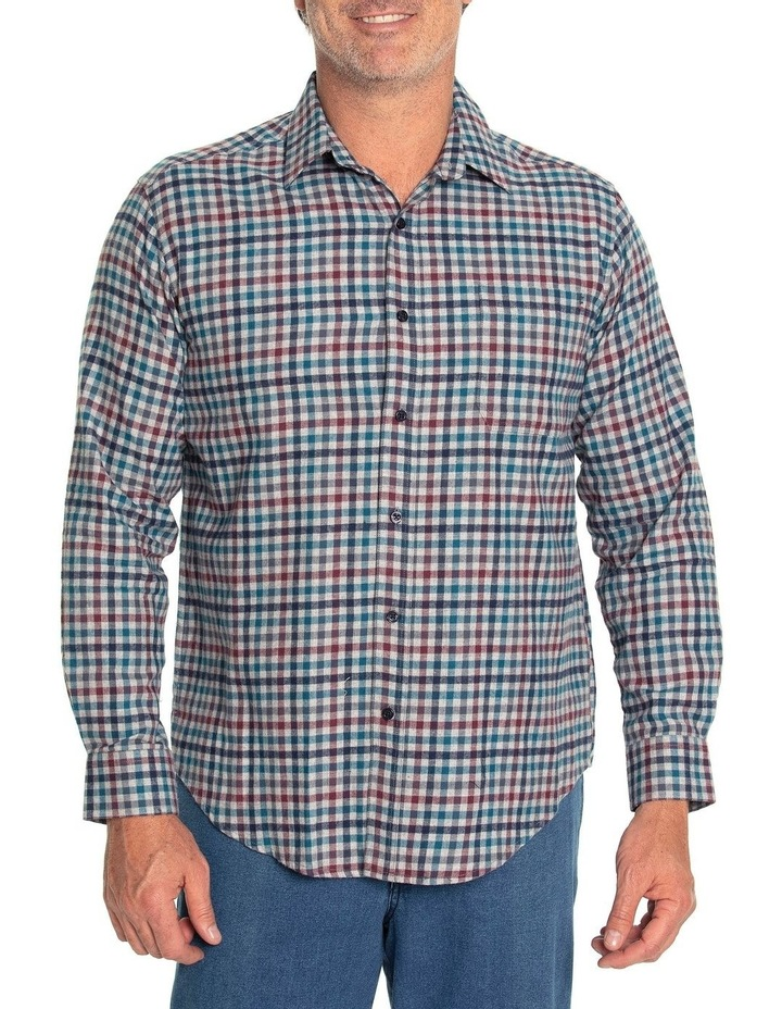 Durani Long Sleeve Cotton Brush Shirt image 1