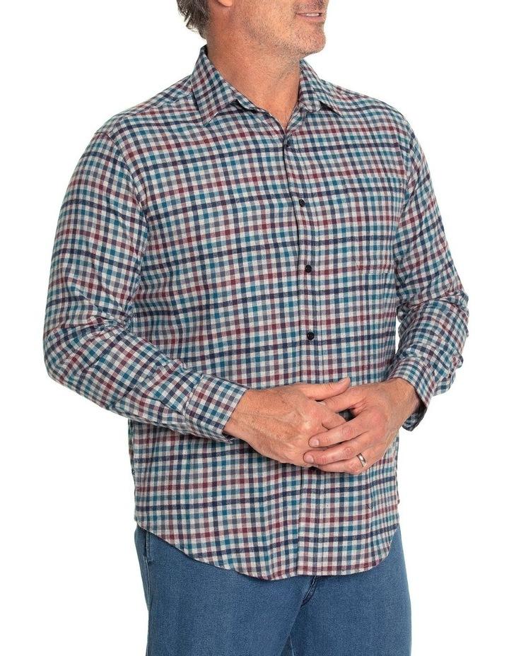 Durani Long Sleeve Cotton Brush Shirt image 2