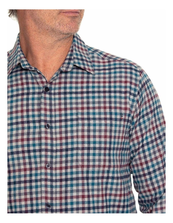 Durani Long Sleeve Cotton Brush Shirt image 4