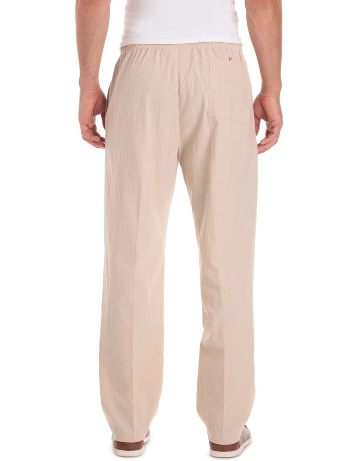 Cotton Crinkle Pant image 3