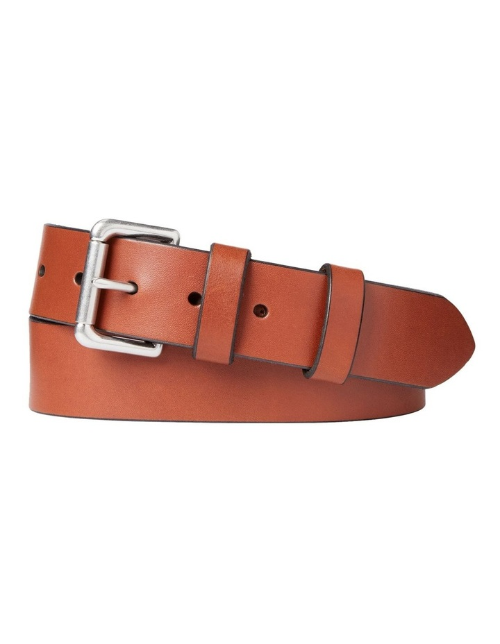 Saddle Leather Belt image 1