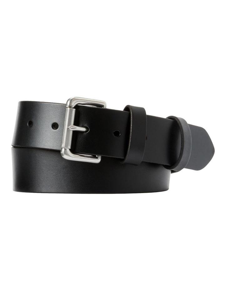 Leather Roller Buckle Belt image 1