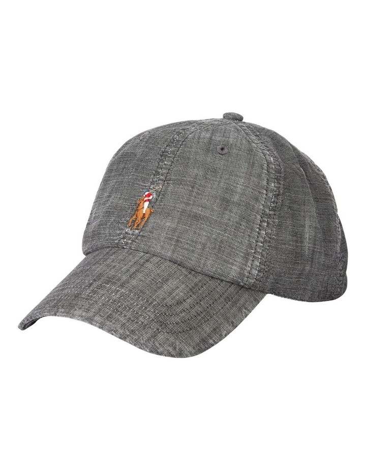Chambray Sports Cap image 1