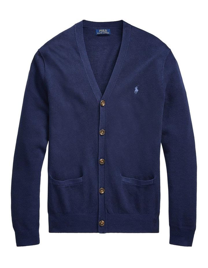 Linen-Cotton V-Neck Cardigan image 4