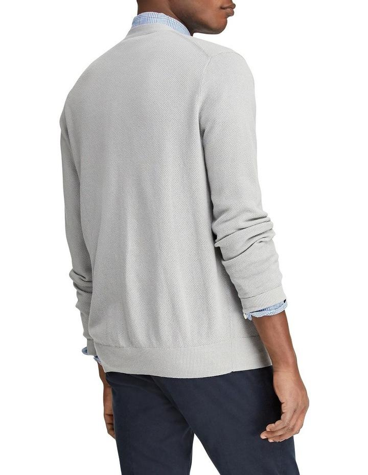 Linen-Cotton V-Neck Cardigan image 2