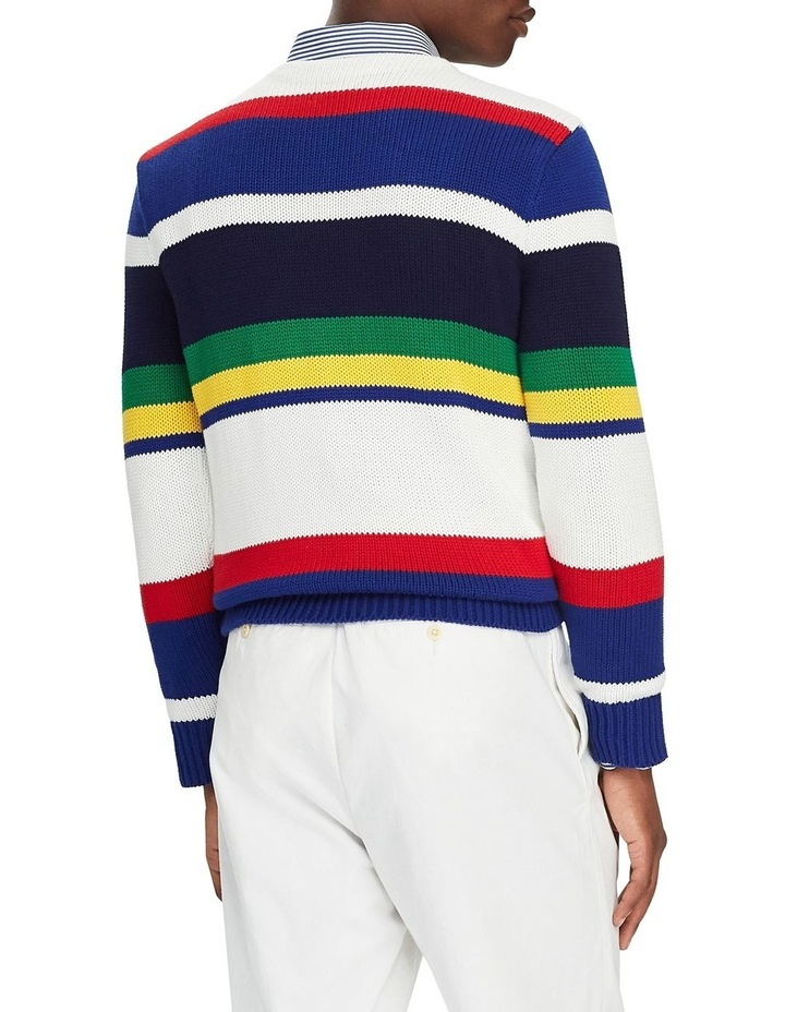 Striped Cotton Sweater image 2
