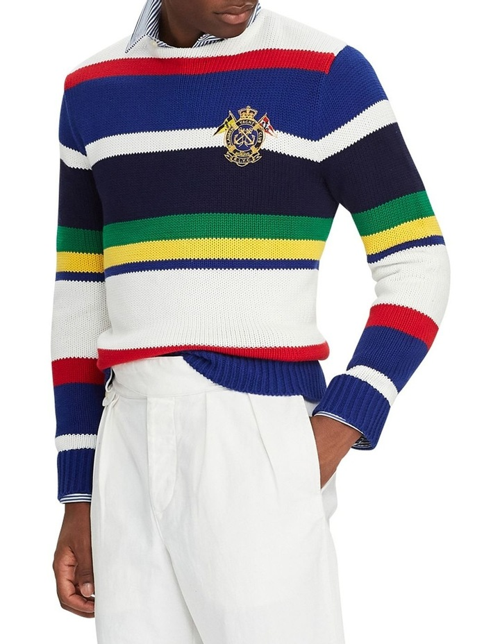 Striped Cotton Sweater image 3