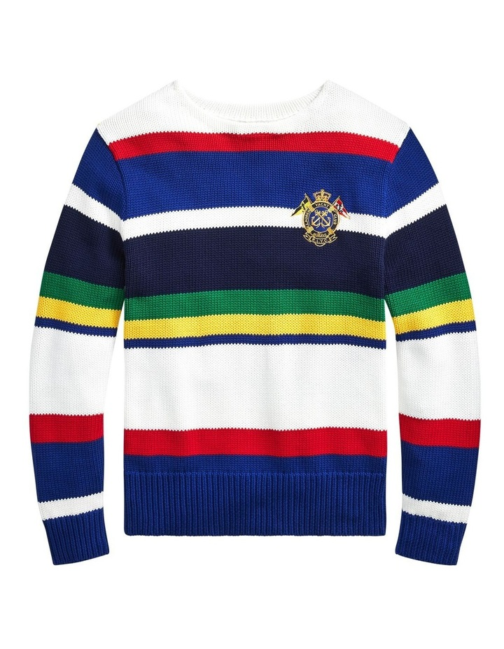 Striped Cotton Sweater image 4