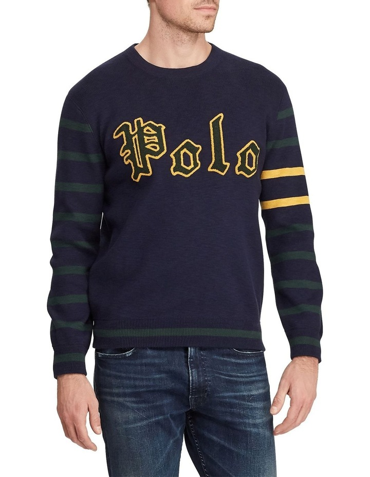 Long Sleeve Cotton Sweater image 1