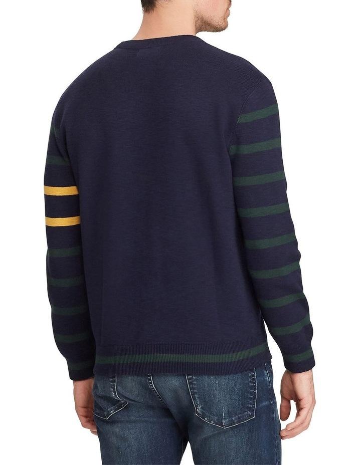 Long Sleeve Cotton Sweater image 2