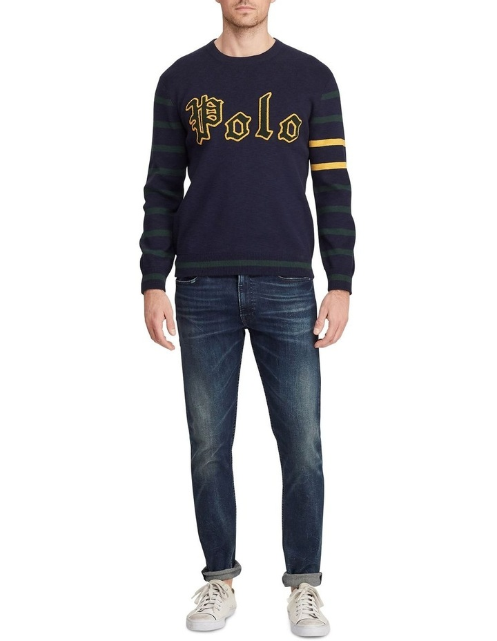 Long Sleeve Cotton Sweater image 3