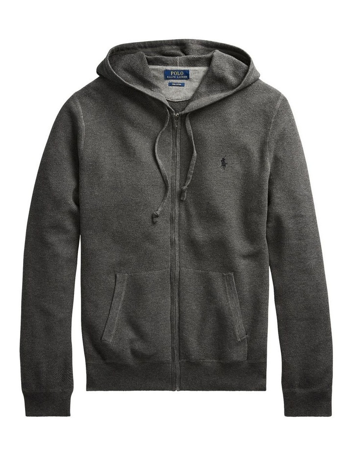 Cotton Full-Zip Sweater image 4