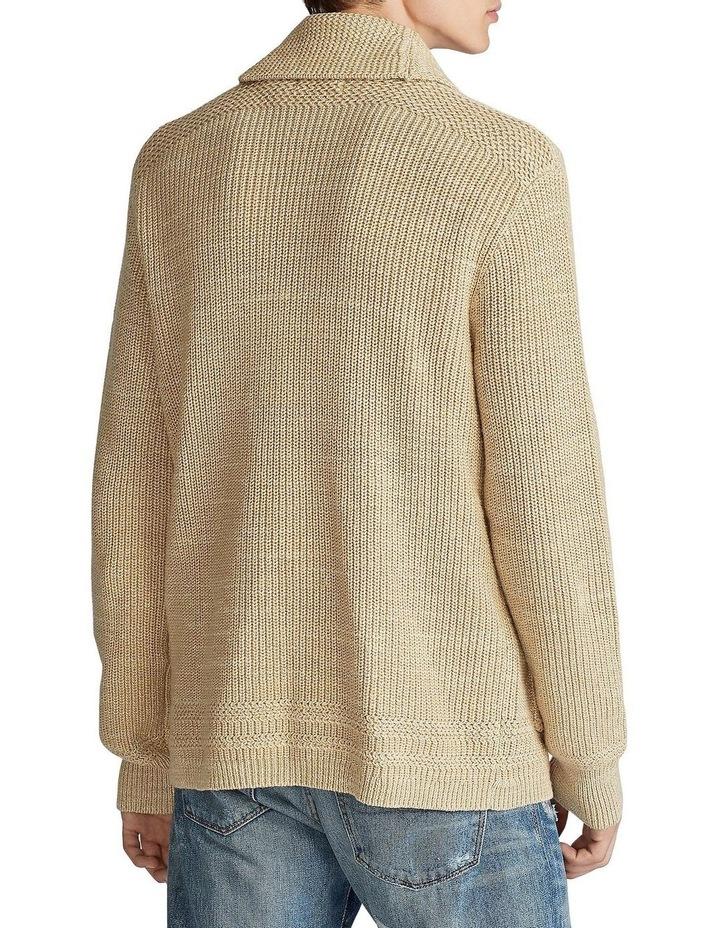 Cotton Shawl-Collar Cardigan image 2