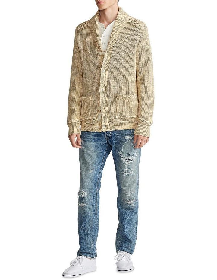 Cotton Shawl-Collar Cardigan image 3