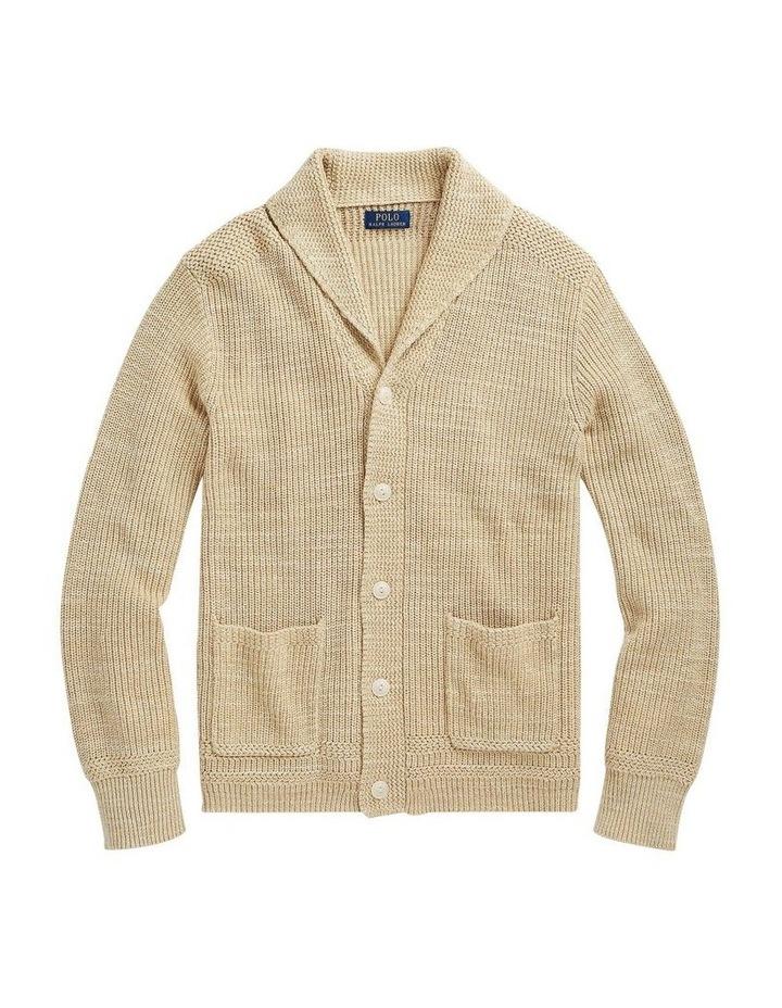 Cotton Shawl-Collar Cardigan image 4