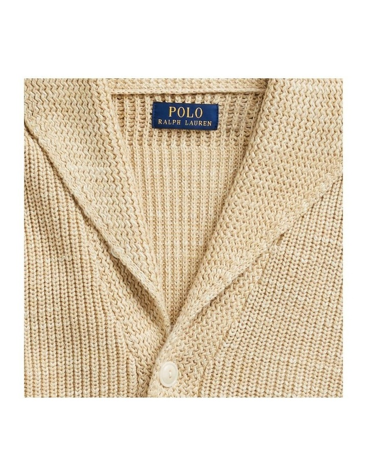 Cotton Shawl-Collar Cardigan image 5