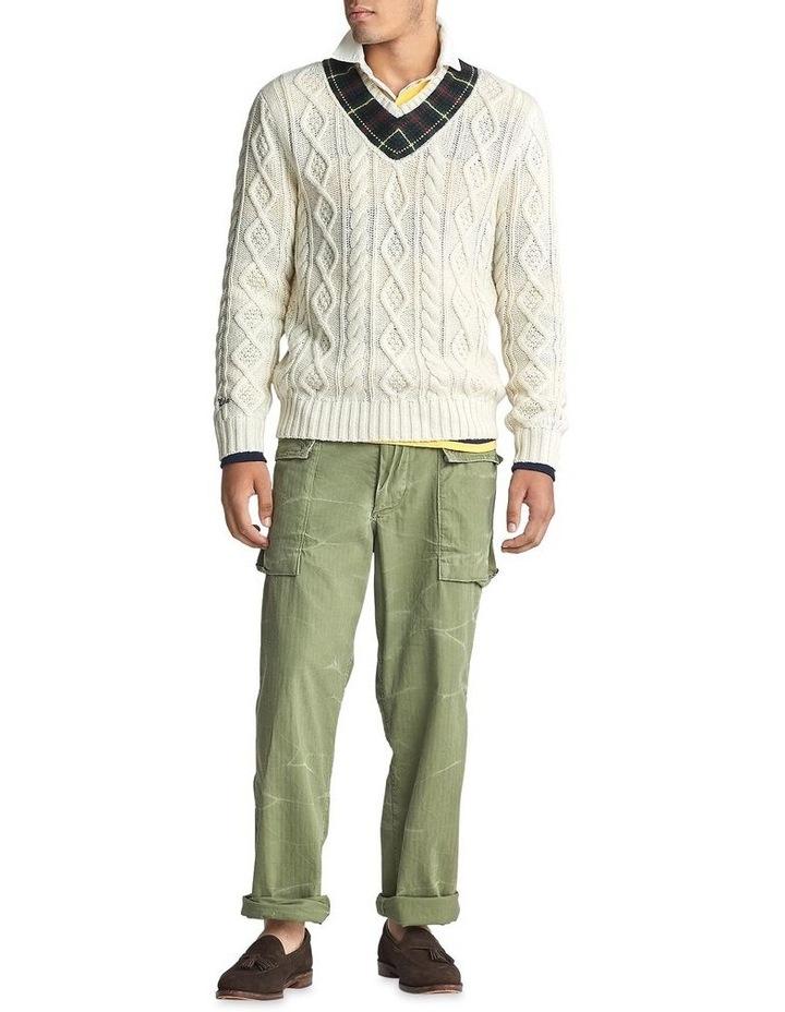 Plaid-Trim Cricket Sweater image 3