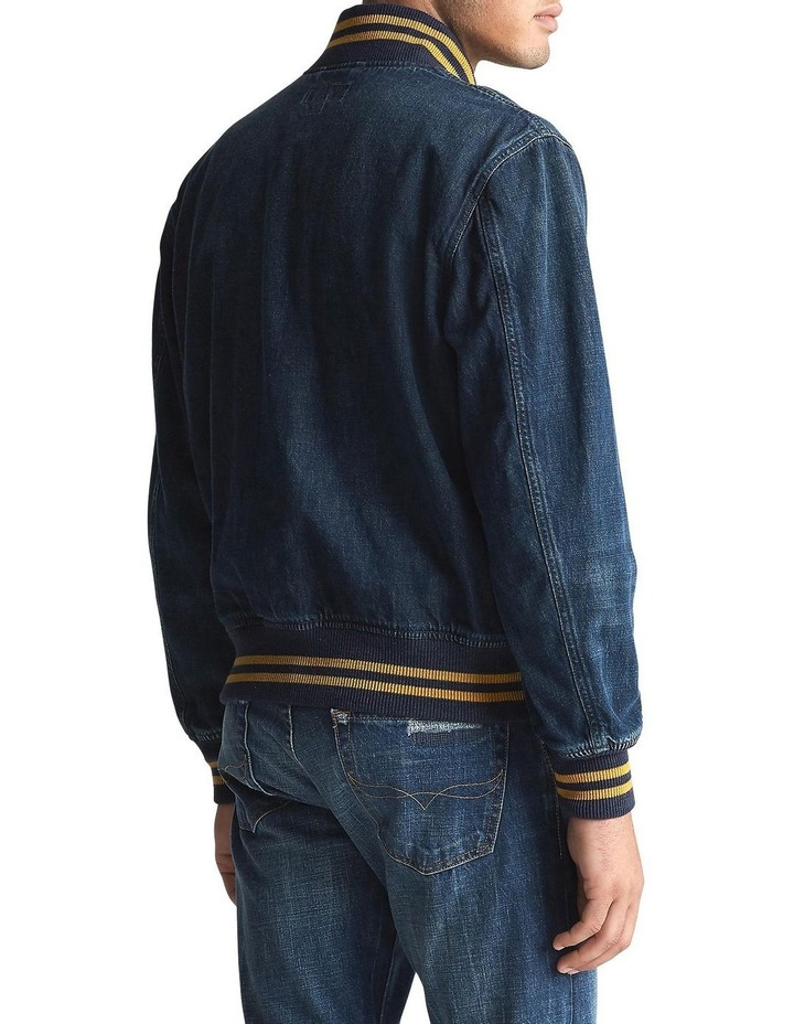 Polo Denim Baseball Jacket image 2