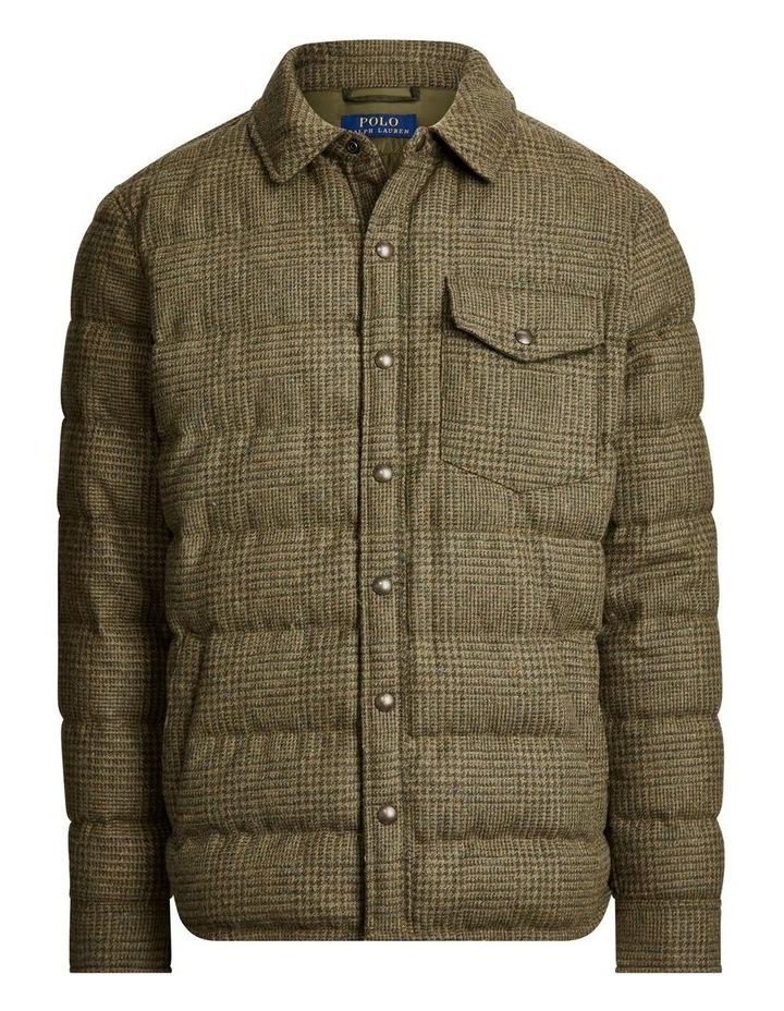 Herringbone Down Shirt Jacket image 4