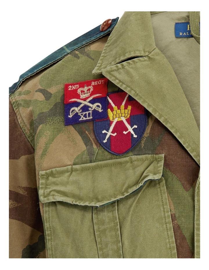 Patchwork Canvas Jacket image 5