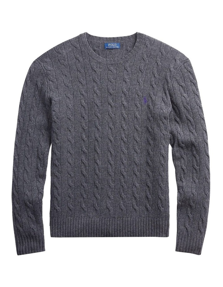 Cable Wool-Cashmere Sweater image 4