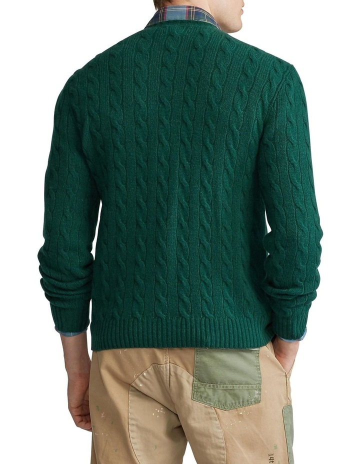 Cable Wool-Cashmere Sweater image 2
