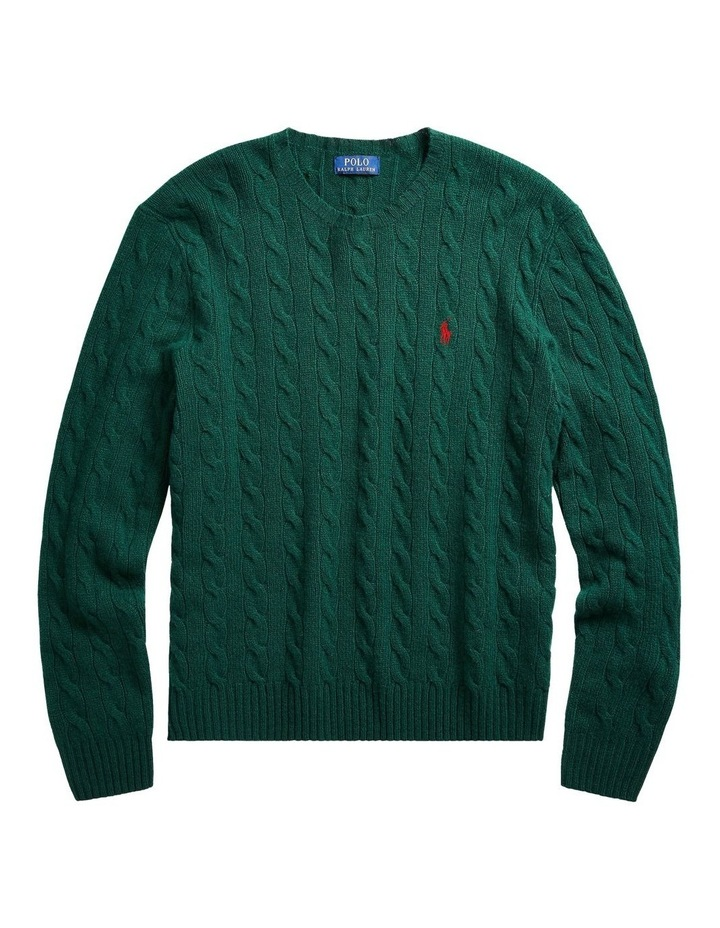 Cable Wool-Cashmere Sweater image 3