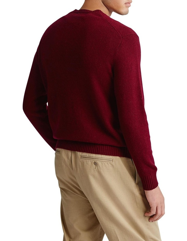 Wool-Cashmere V-Neck Sweater image 2